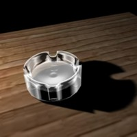 free ashtray 3d model
