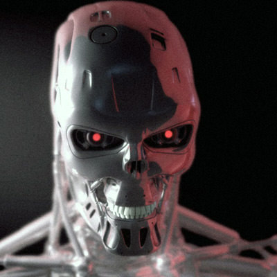 free max model robot head