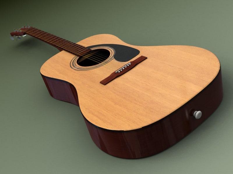 max yamaha guitar