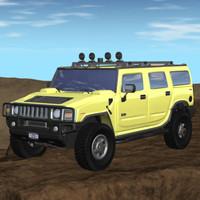 Hummer H2 exterior (LW)