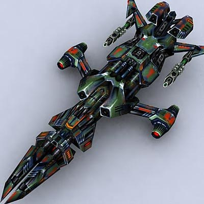 sci-fi space fighter 3ds