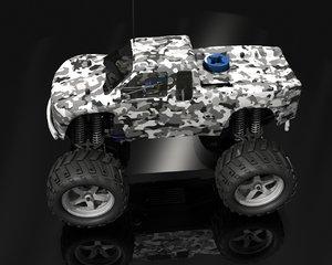 hi truck 3d model