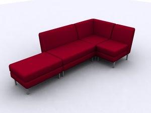 3dsmax libre sofa chair