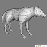wolf 822 3d model