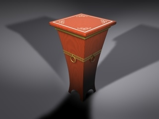 accent table 3ds