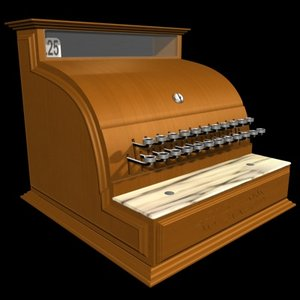 antique cash register max