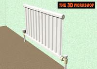maya central heating radiator