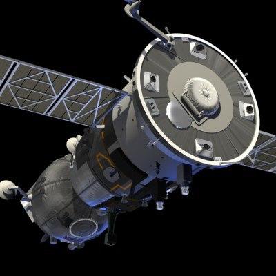 3d soyuz spacecraft