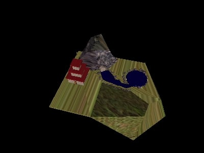 aisan country 3d model