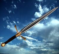 lethriel sword 3d model