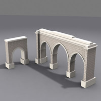 3d model gate architectural