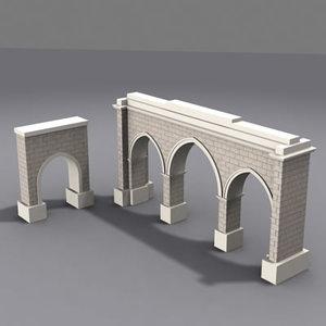 3d model gate architectural