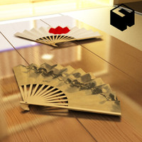 japanese architecture sensu 3d model