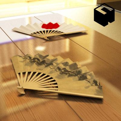 japanese architecture sensu 3d model