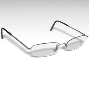 glasses accessory 3d model