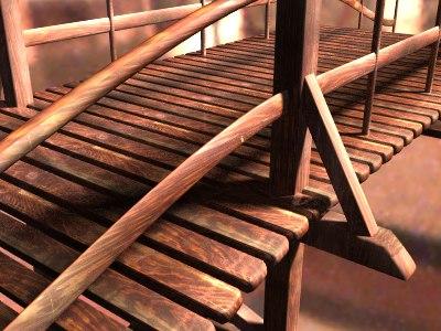 wooden bridge lwo