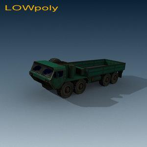 3d m hemtt model