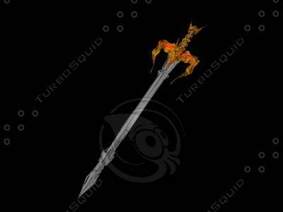 3d battlesword ed model