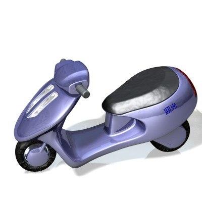 3ds max veto motorbike