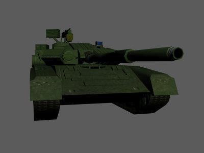 3dsmax t 80 soviet tank