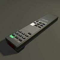 remote control.c4d