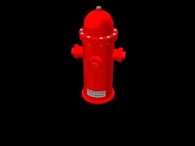 free hydrant 3d model