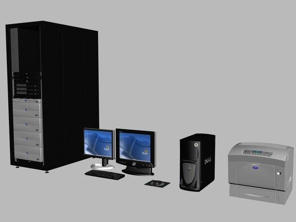 3d model desktop