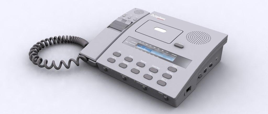 3d dictaphone dicta phone