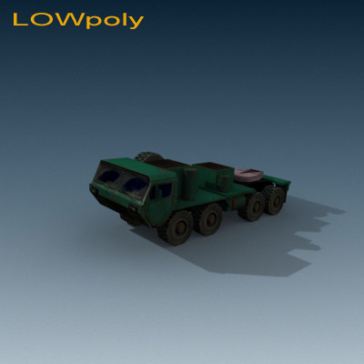 3d m model