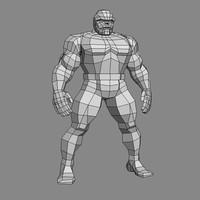 3d model comics character