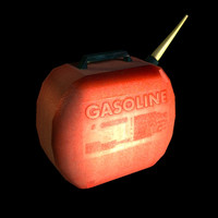 3d model of gas gamespace