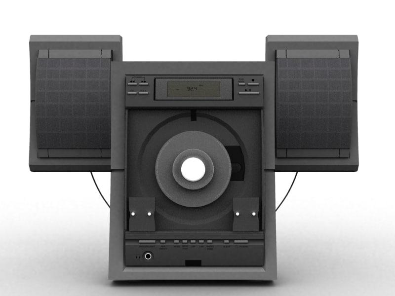 3d cd player