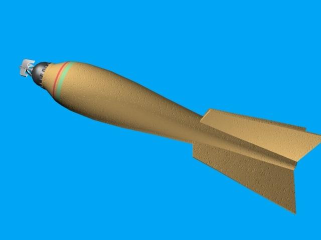 british cooper bomb 3d model