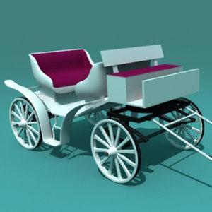 3d carriage car