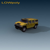 hummer humvee car 3ds free