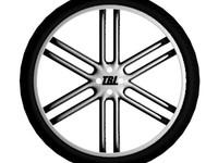 3d model tbl wheel