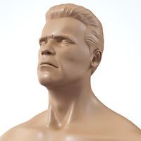 human male body 3d model