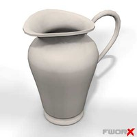 3ds max jug vase