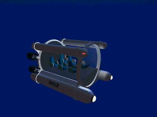 imax-6 tourist submarine 3d model