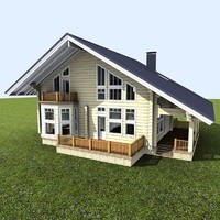 wooden wood house max