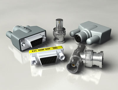 3d connector d-sub changer model