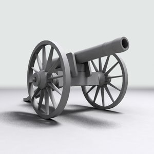 civil war cannon max