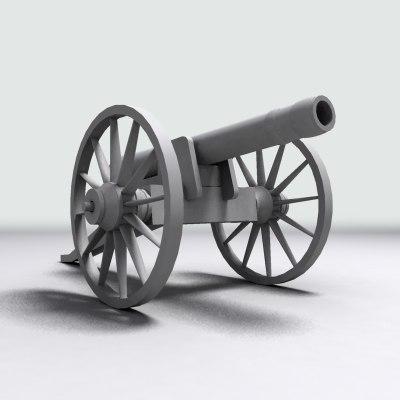 civil war cannon max