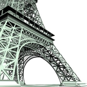 maya eiffel tower