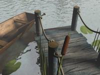 3dsmax lake