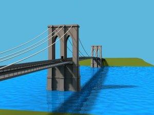 3ds brooklyn bridge