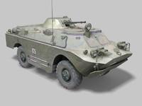 3ds max brdm armored reconnaissance
