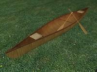 canoe paddles 3ds