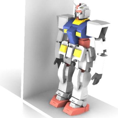 free ma model rx-78 gundam