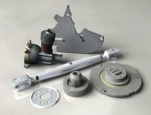 3dsmax mechanical items
